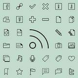 Communication sign icon. Detailed set of minimalistic icons. Premium graphic design. One of the collection icons for websites, web. Design, mobile app on Stock Images