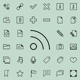 Communication sign icon. Detailed set of minimalistic icons. Premium graphic design. One of the collection icons for websites, web. Design, mobile app on Stock Photo