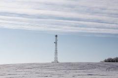 Communication signal pole Royalty Free Stock Photos