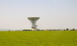 Communication signal receiving tower Stock Photo