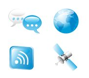 Communication signs Royalty Free Stock Photography
