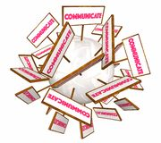 Communication Signs Royalty Free Stock Photos