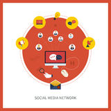 Communication and social media Royalty Free Stock Photography