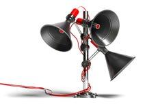 Communication speaker Stock Photography