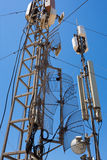 Communication station and equipment Royalty Free Stock Photo