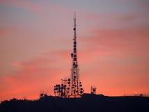 Communication Sunset Royalty Free Stock Image