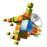 Communication symbol. Vector illustration of communication, network, information technologies vector illustration