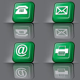 Communication symbols Royalty Free Stock Photo
