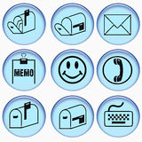 Communication symbols Royalty Free Stock Image