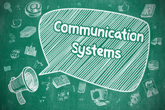 Communication Systems - Business Concept. Royalty Free Stock Photo