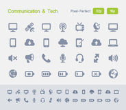 Communication & Tech | Granite Icons Stock Photos