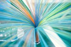 Communication technology, fiber optic products Stock Photos