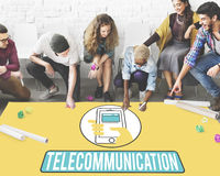 Communication Technology Mobility Wireless Concept Royalty Free Stock Photos