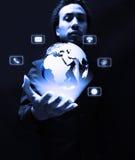 communication and technology Stock Photography