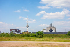 Communication / television tower in Bremen-Walle Stock Photos