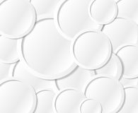 Communication or text circles bubbles Royalty Free Stock Images