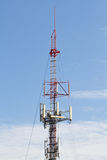 Communication tower Stock Photos