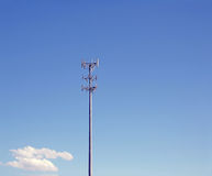 Communication tower. A tall tower for communication waves like cell phone Stock Images