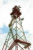 Communication tower Royalty Free Stock Photo