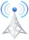 Communication Tower - Illustration Stock Photography
