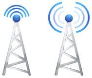 Communication Tower - Illustration Royalty Free Stock Photo