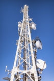 Communication tower Royalty Free Stock Images