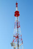 Communication Tower (TV Tower) Royalty Free Stock Photography