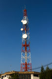 Communication towers Stock Image