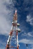 Communication towers Royalty Free Stock Image