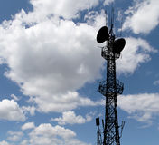Communication transmitter Stock Photo