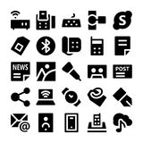 Communication Vector Icons 8 Royalty Free Stock Photo