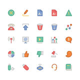 Communication Vector Icons 6 Royalty Free Stock Photos