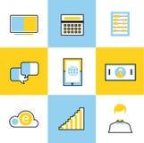 Communication vector icons set Royalty Free Stock Photo