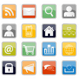 Communication and web Icons Stock Photo