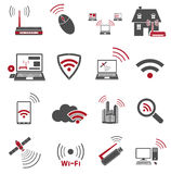 Communication web icons Stock Image