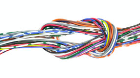 Communication wire Stock Photos
