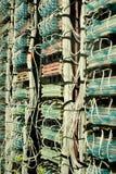 Communication Wiring Stock Image