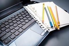 Communication writing Stock Images