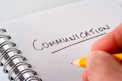 Communications Stock Image