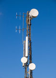 Communications antenna Stock Image