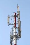 Communications antenna detail royalty free stock photo