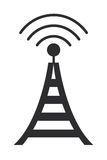 Communications antenna icon Stock Photos