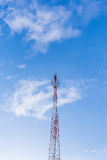 Communications antenna Stock Images