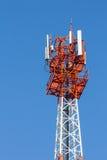 Communications antenna. Royalty Free Stock Photos
