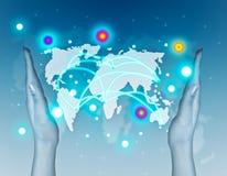 Communications concept Stock Photos