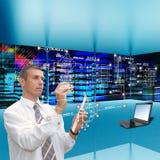 Communications engineering technology. Stock Image