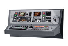 Communications equipment panel Royalty Free Stock Photo