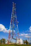 Communications GSM tower, Romania Royalty Free Stock Photography