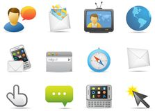 Communications icon #3 Stock Photos