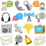 Communications Icon - Illustration Royalty Free Stock Images